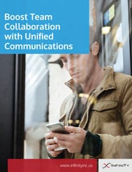 Boost Team Collaboration with Unified Communications whitepaper cover