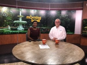 Chuck and Syreia on WTOC morning cybersecurity online shopping protection tips
