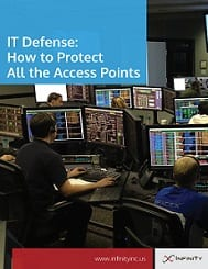 IT Defense: How to Protect all the access points cover image