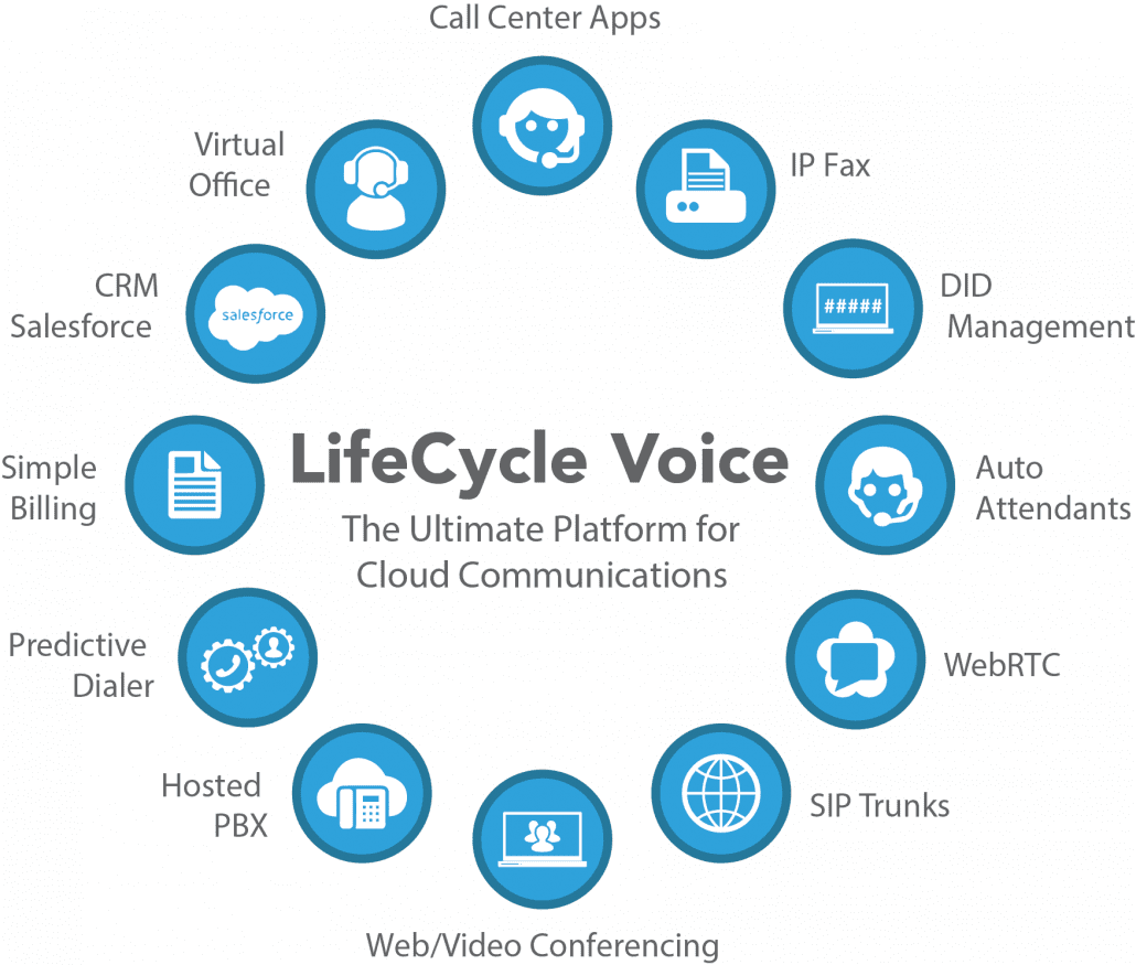LifeCycle Voice diagram of features