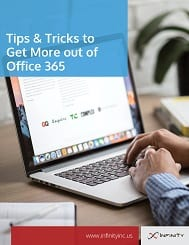Tips and Tricks to get more out of Office 365 cover