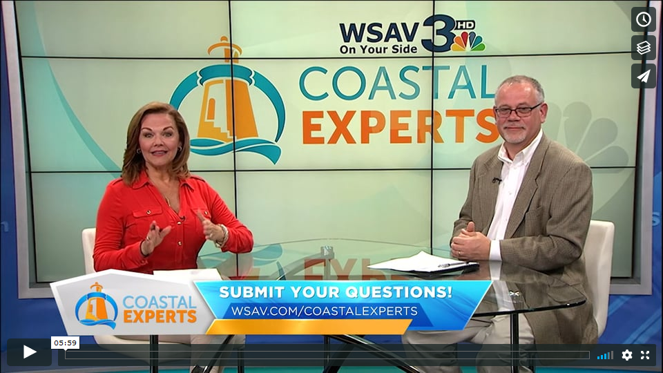 Chuck Brown on Coastal Experts talking about network security