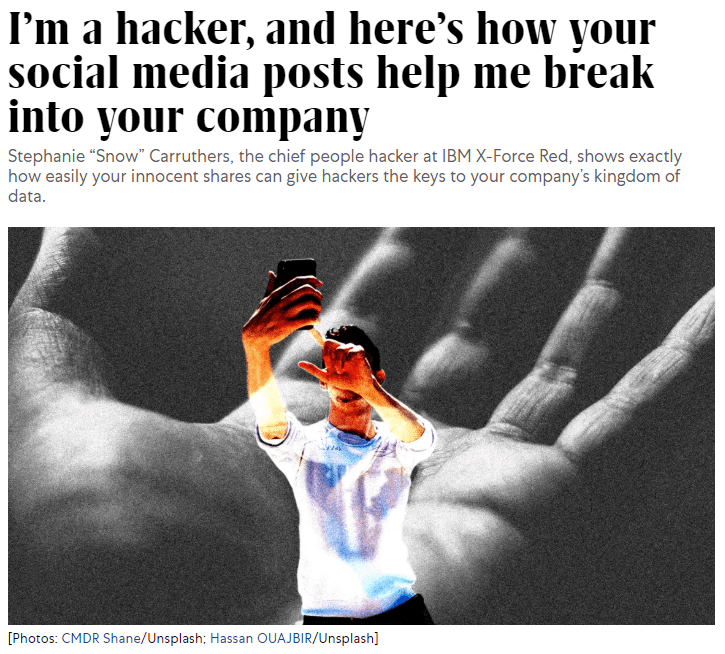 fastcompany.com hacker article snippet