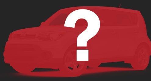 red mystery company car