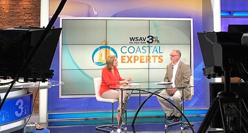 Chuck Brown on WSAV Coastal Experts