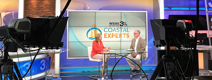 Chuck Brown on WSAV Coastal Experts