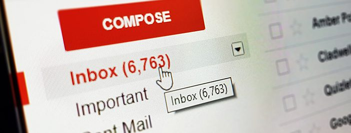 unwanted spam emails in inbox without email security solution