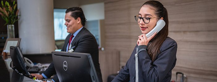 receptionists for generic accounts and security