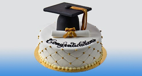 graduation cake for scholarship applications
