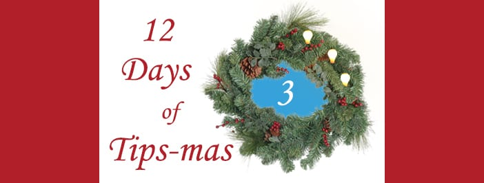 12 days of tips-mas wreath 3