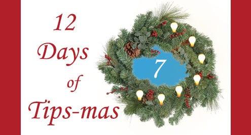 12 days of tips-mas wreath 7