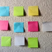 sticky notes showing the untapped power of microsoft planner