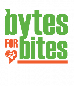 Bytes for Bites technology food drive competition
