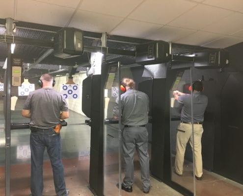 Infinity employees target shooting