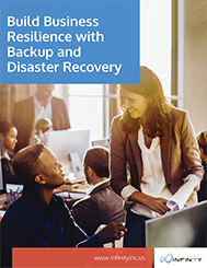 Build Business Resilience with Backup and Disaster Recovery cover
