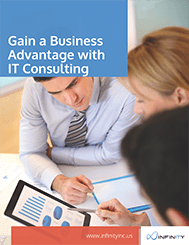 Gain a Business Advantage with IT Consulting cover