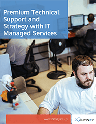Premium Technical Support and Strategy with IT Managed Services cover